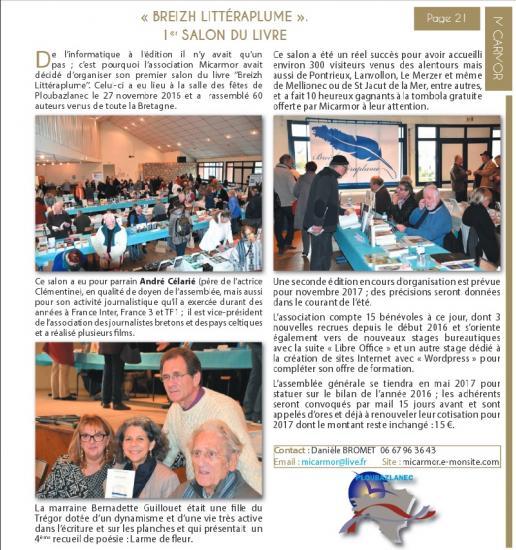 Journal commune ploubaz janv 2017